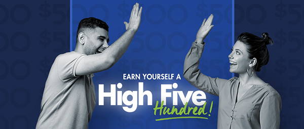Earn Yourself a High Five