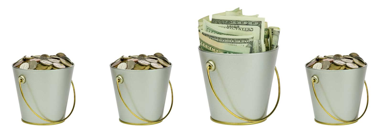 Save More with Money Buckets