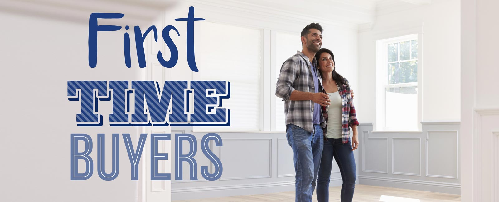 First time homebuyers new house